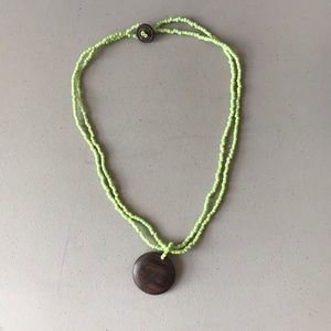 Other - Men's Wood Charm Necklace